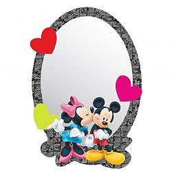 AG Art Samolepiace detské zrkadlo Mickey & Minnie, 15 x 21,5 cm