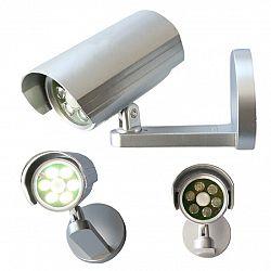 Bezpečnostné svetlo/kamera so senzorom pohybu, 6 LED