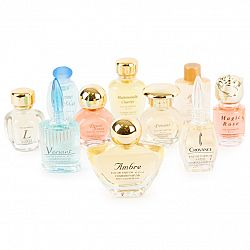 Darčeková sada francúzskych parfumov Charrier Parfums, 10 ks