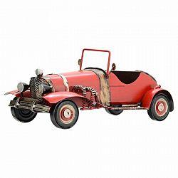 Dekoračný model auta Cabrio, červená