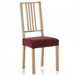 Forbyt Multielastický poťah na sedák na stoličku Petra červená, sada 2 ks