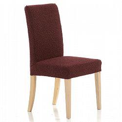 Forbyt Multielastický poťah na stoličku Petra červená, 40 - 50 cm, sada 2 ks