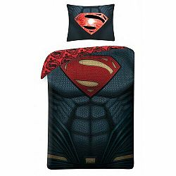 Halantex Bavlnené obliečky Superman 4003, 140 x 200 cm, 70 x 90 cm