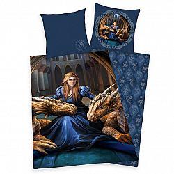 Herding Detské bavlnené obliečky Anne Stokes Collection Dragons, 140 x 200 cm, 70 x 90 cm