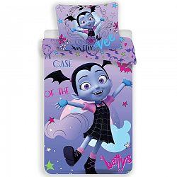 Jerry Fabrics Detské bavlnené obliečky Vampirina, 140 x 200 cm, 70 x 90 cm