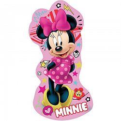 Jerry Fabrics Tvarovaný vankúšik Minnie pink, 31 x 16 cm
