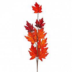 Jesenné vetvička s červenými listami javora, 70 cm