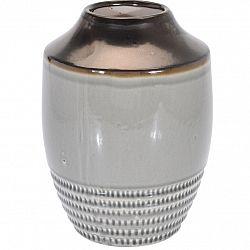 Keramická váza Anadia sivá, 18,5 x 25 cm