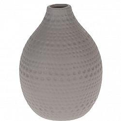 Keramická váza Asuan hnedá, 17,5 cm