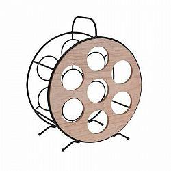 Okrúhly stojan na 7 fliaš vína