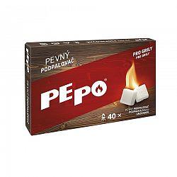 PE-PO Pevný podpaľovač krabička, 40 podpalov