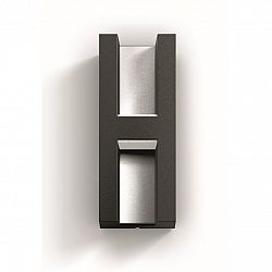 Philips 17351/93/P0 Shadow Vonkajšie nástenné LED svietidlo 22 cm, antracit