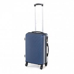 Pretty UP Cestovný škrupinový kufor ABS03 S, modrá