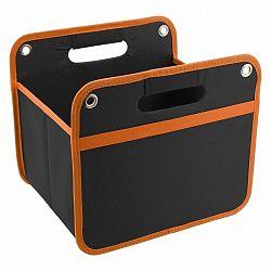 Skladací organizér do kufra Orange, 32 x 29 cm