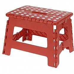Skladacia stolička červená, 29 x 22 cm