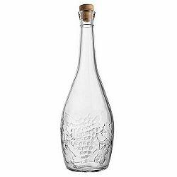 Sklenená fľaša so zátkou Sevi, 1 l