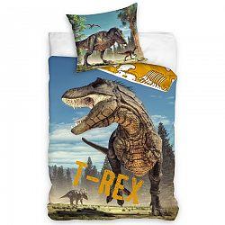 Tiptrade Bavlnené obliečky Tyranosaurus Rex, 140 x 200 cm, 70 x 90 cm