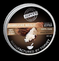 Topvet 100 % Bambucké máslo, 30 ml