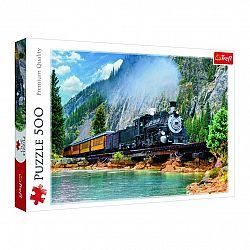 TREFL Vlak v horách 500 dielov