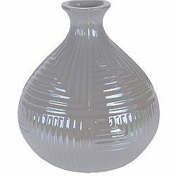 Váza Loarre biela, 12,5 x 14,5 cm