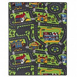Vopi Detský koberec City life, 95 x 200 cm