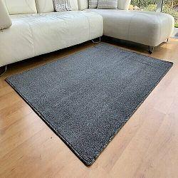 Vopi Kusový koberec Capri antracit, 80 x 150 cm